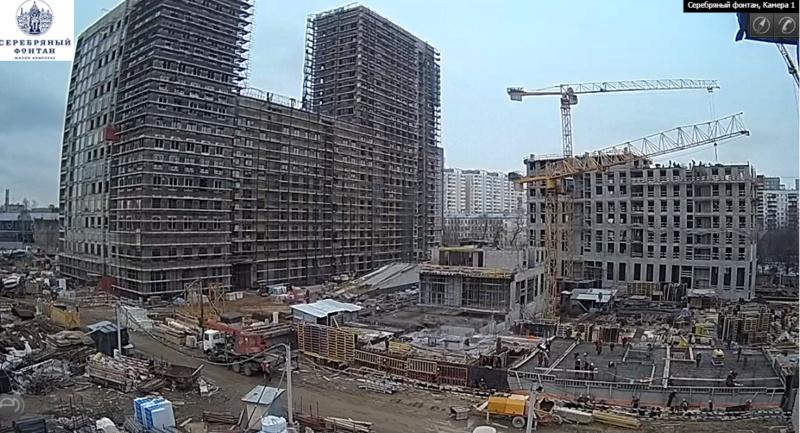 Веб-камеры на площадке строительства ЖК «Серебряный фонтан»  - Страница 9 110