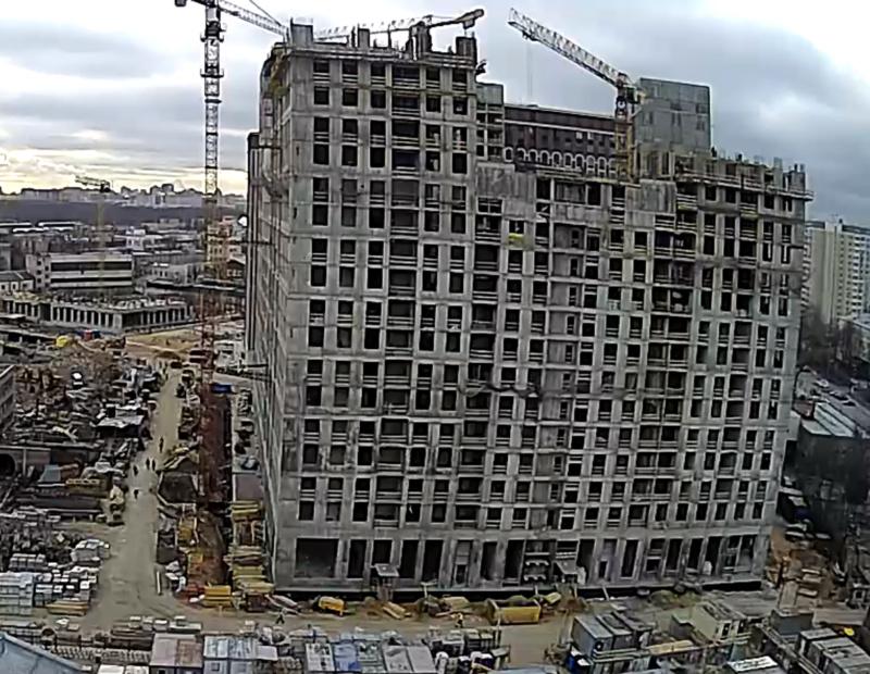 Веб-камеры на площадке строительства ЖК «Серебряный фонтан»  - Страница 17 11111