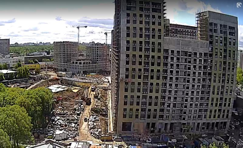 Веб-камеры на площадке строительства ЖК «Серебряный фонтан»  - Страница 22 111110