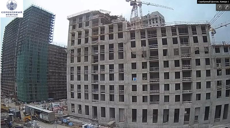 Веб-камеры на площадке строительства ЖК «Серебряный фонтан»  - Страница 12 1114
