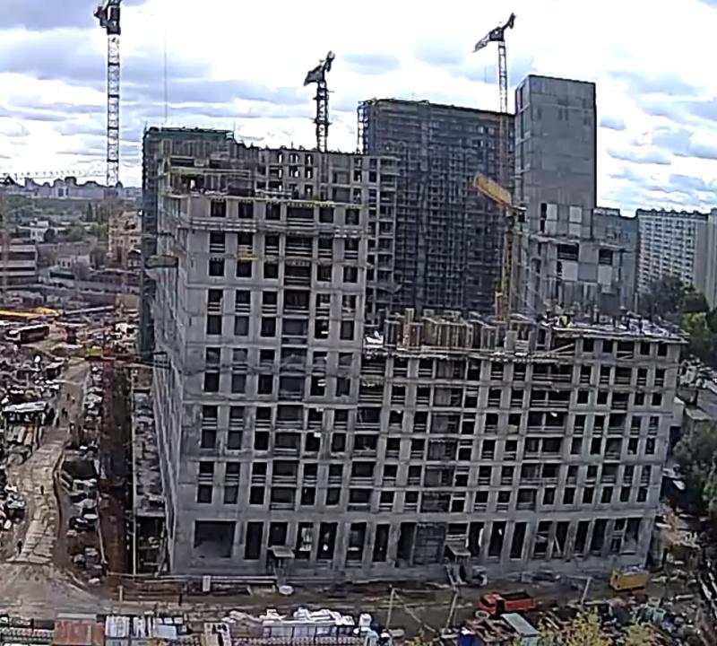 Веб-камеры на площадке строительства ЖК «Серебряный фонтан»  - Страница 14 1117
