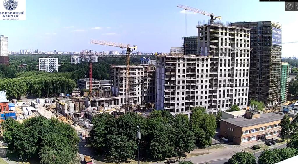 Веб-камеры на площадке строительства ЖК «Серебряный фонтан»  - Страница 12 11210