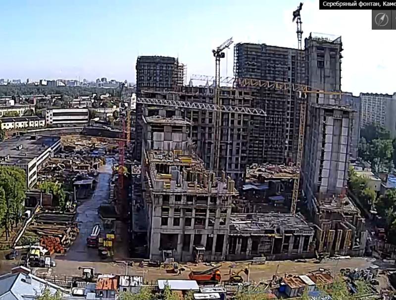 Веб-камеры на площадке строительства ЖК «Серебряный фонтан»  - Страница 12 11211