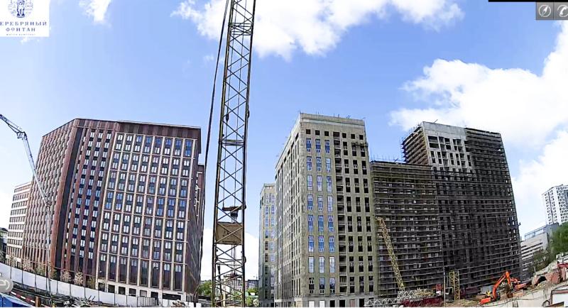 Веб-камеры на площадке строительства ЖК «Серебряный фонтан»  - Страница 22 11212