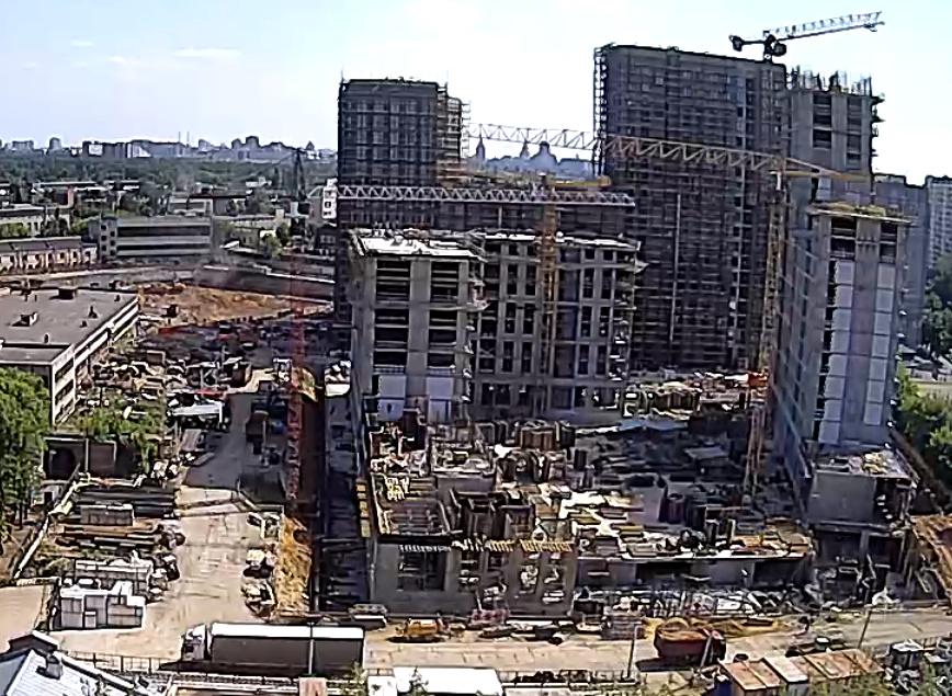 Веб-камеры на площадке строительства ЖК «Серебряный фонтан»  - Страница 11 11310