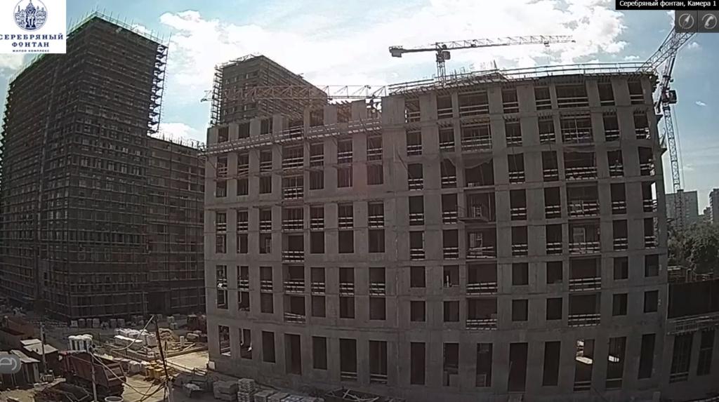 Веб-камеры на площадке строительства ЖК «Серебряный фонтан»  - Страница 11 11410
