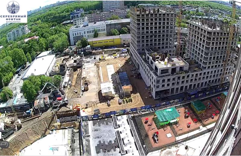 Веб-камеры на площадке строительства ЖК «Серебряный фонтан»  - Страница 22 11412