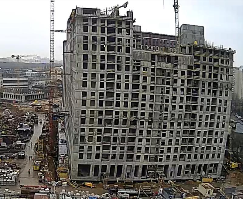 Веб-камеры на площадке строительства ЖК «Серебряный фонтан»  - Страница 17 120