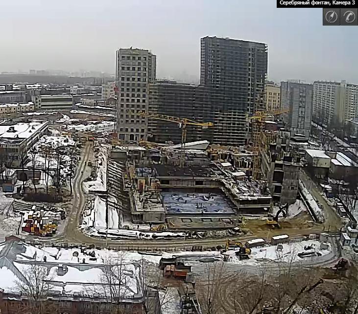 Веб-камеры на площадке строительства ЖК «Серебряный фонтан»  - Страница 9 123510