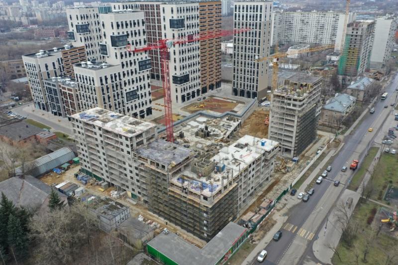 Новый проект Эталона в Москве - ЖК «Нормандия»  - Страница 9 124