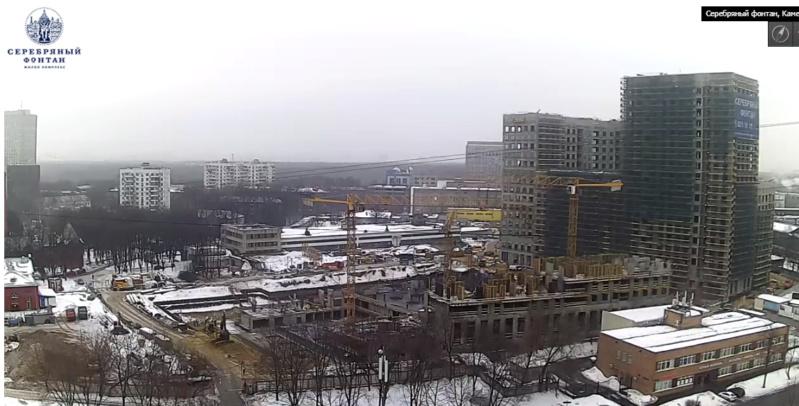 Веб-камеры на площадке строительства ЖК «Серебряный фонтан»  - Страница 9 12410