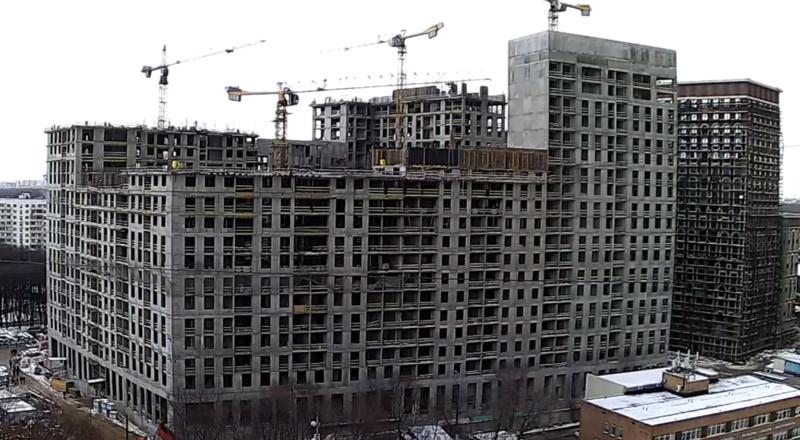 Веб-камеры на площадке строительства ЖК «Серебряный фонтан»  - Страница 16 20310