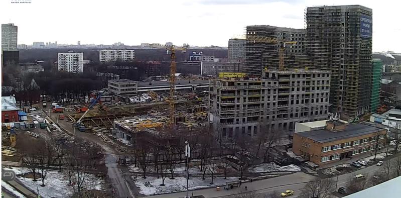 Веб-камеры на площадке строительства ЖК «Серебряный фонтан»  - Страница 9 210