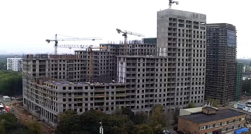 Веб-камеры на площадке строительства ЖК «Серебряный фонтан»  - Страница 14 213