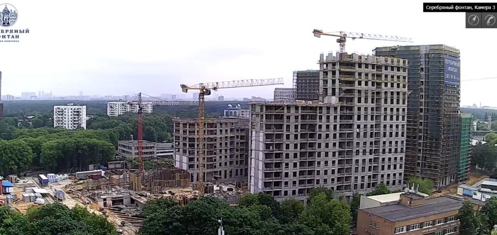 Веб-камеры на площадке строительства ЖК «Серебряный фонтан»  - Страница 11 2211