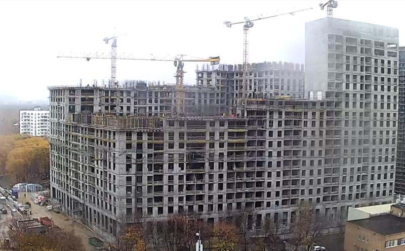 Веб-камеры на площадке строительства ЖК «Серебряный фонтан»  - Страница 16 2212