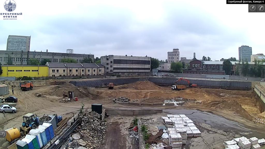 Веб-камеры на площадке строительства ЖК «Серебряный фонтан»  - Страница 11 2311