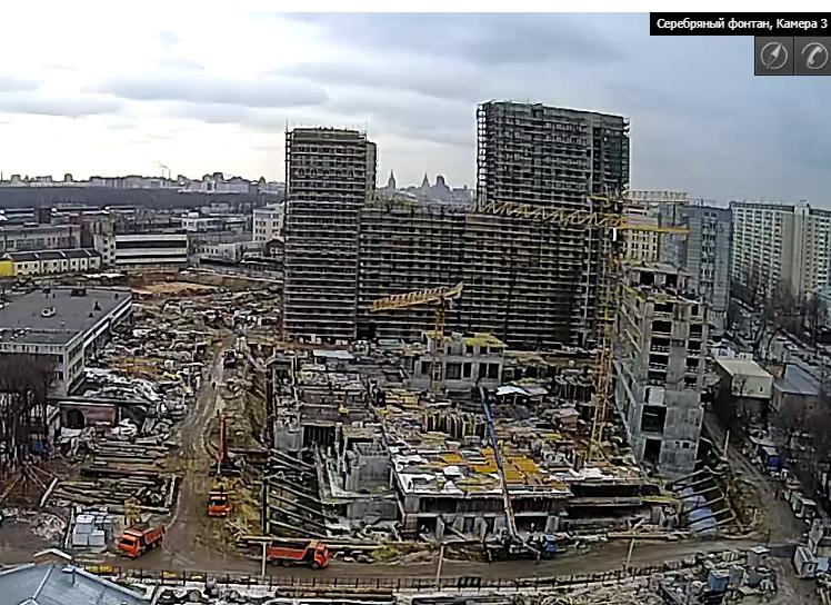 Веб-камеры на площадке строительства ЖК «Серебряный фонтан»  - Страница 9 311