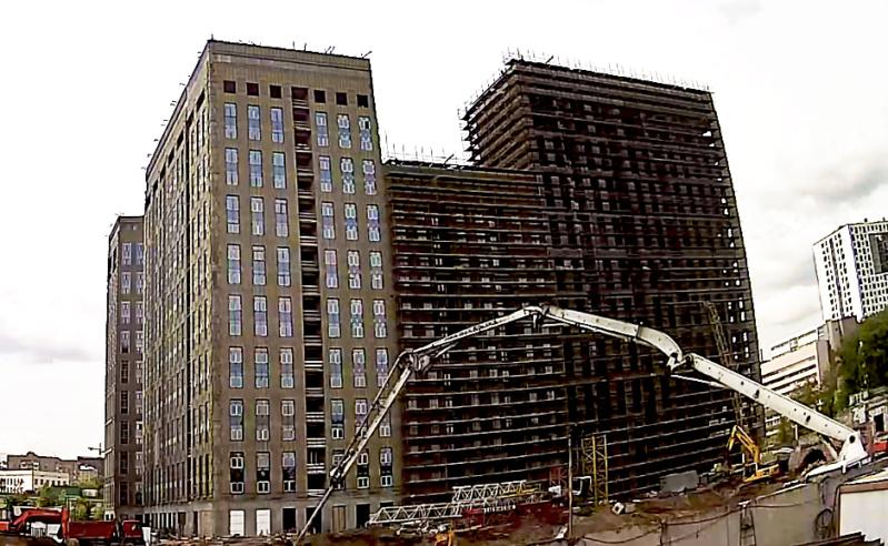Веб-камеры на площадке строительства ЖК «Серебряный фонтан»  - Страница 22 33110