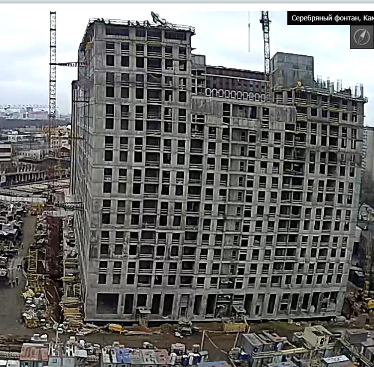 Веб-камеры на площадке строительства ЖК «Серебряный фонтан»  - Страница 17 3314
