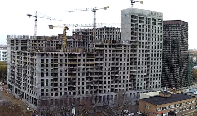 Веб-камеры на площадке строительства ЖК «Серебряный фонтан»  - Страница 16 3314