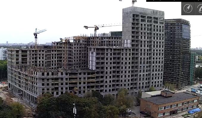 Веб-камеры на площадке строительства ЖК «Серебряный фонтан»  - Страница 14 3333310