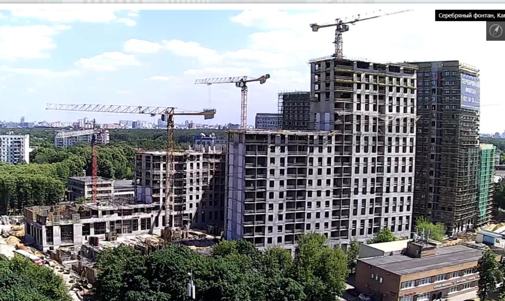 Веб-камеры на площадке строительства ЖК «Серебряный фонтан»  - Страница 12 33411
