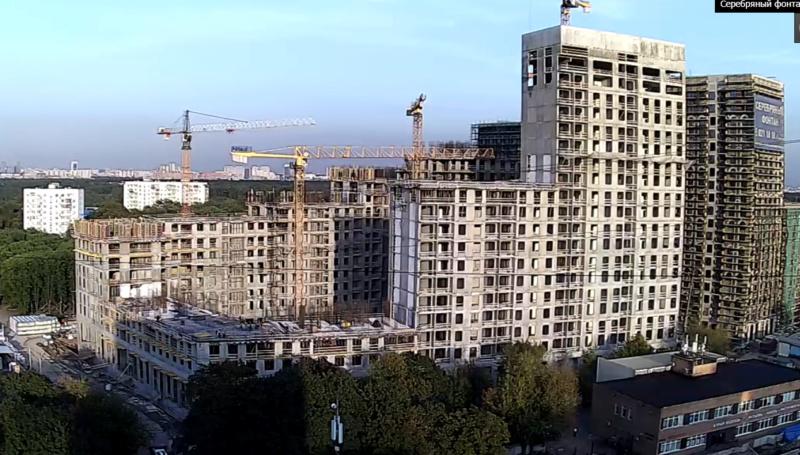Веб-камеры на площадке строительства ЖК «Серебряный фонтан»  - Страница 13 33412