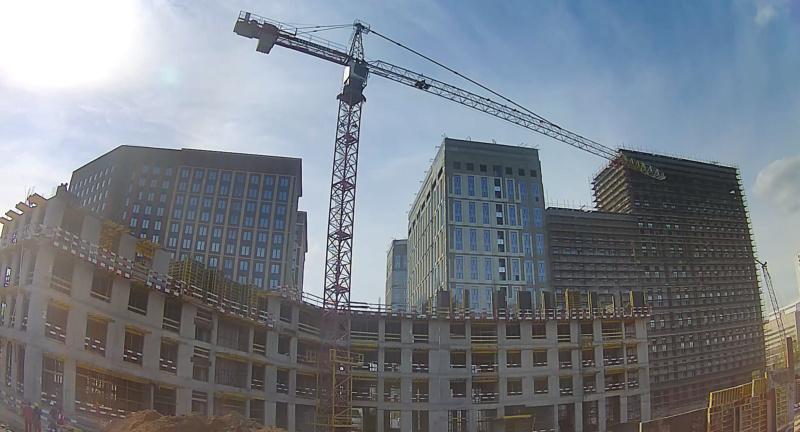 Веб-камеры на площадке строительства ЖК «Серебряный фонтан»  - Страница 25 3410