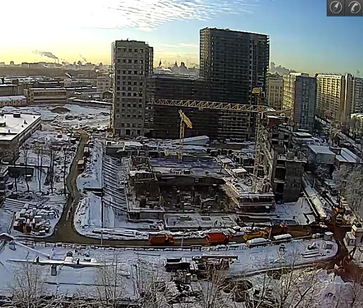 Веб-камеры на площадке строительства ЖК «Серебряный фонтан»  - Страница 9 34567811
