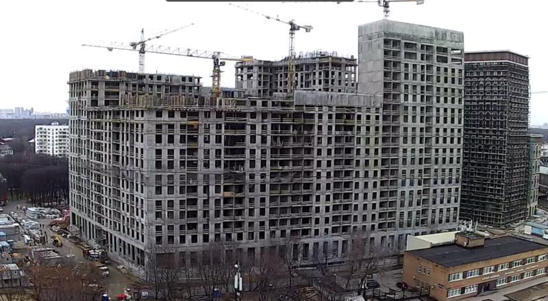 Веб-камеры на площадке строительства ЖК «Серебряный фонтан»  - Страница 16 4111