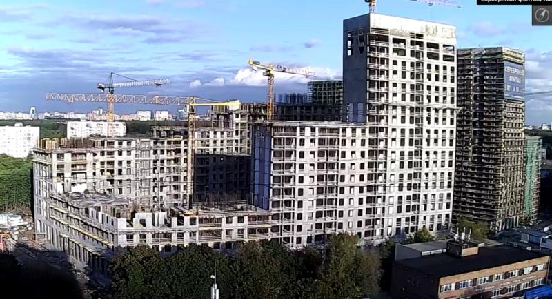 Веб-камеры на площадке строительства ЖК «Серебряный фонтан»  - Страница 13 44210
