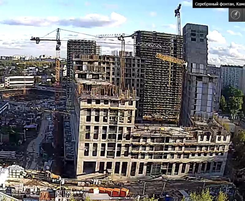 Веб-камеры на площадке строительства ЖК «Серебряный фонтан»  - Страница 13 44311