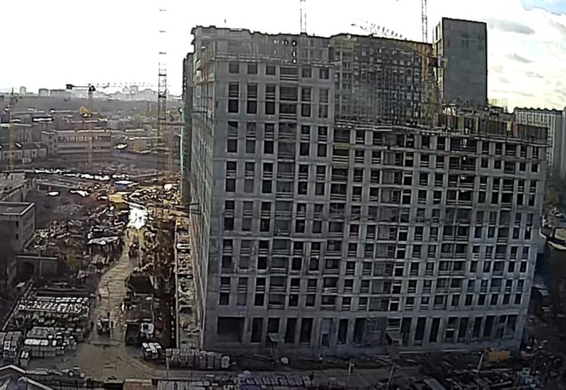 """Ход строительства 2 корпуса ЖК """"Серебряный фонтан"""" - Страница 11 4444410"""