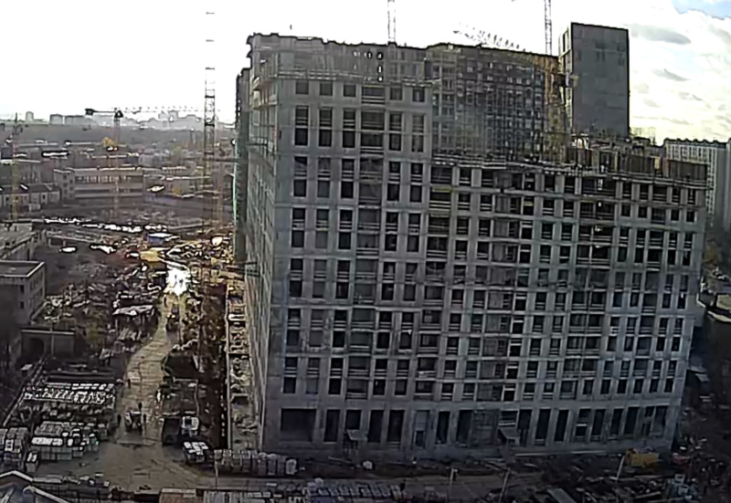 Веб-камеры на площадке строительства ЖК «Серебряный фонтан»  - Страница 16 4444411
