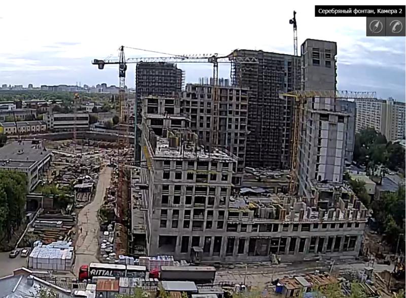 Веб-камеры на площадке строительства ЖК «Серебряный фонтан»  - Страница 13 55514