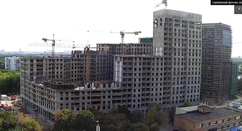 Веб-камеры на площадке строительства ЖК «Серебряный фонтан»  - Страница 14 55515