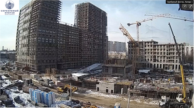 Веб-камеры на площадке строительства ЖК «Серебряный фонтан»  - Страница 9 6110