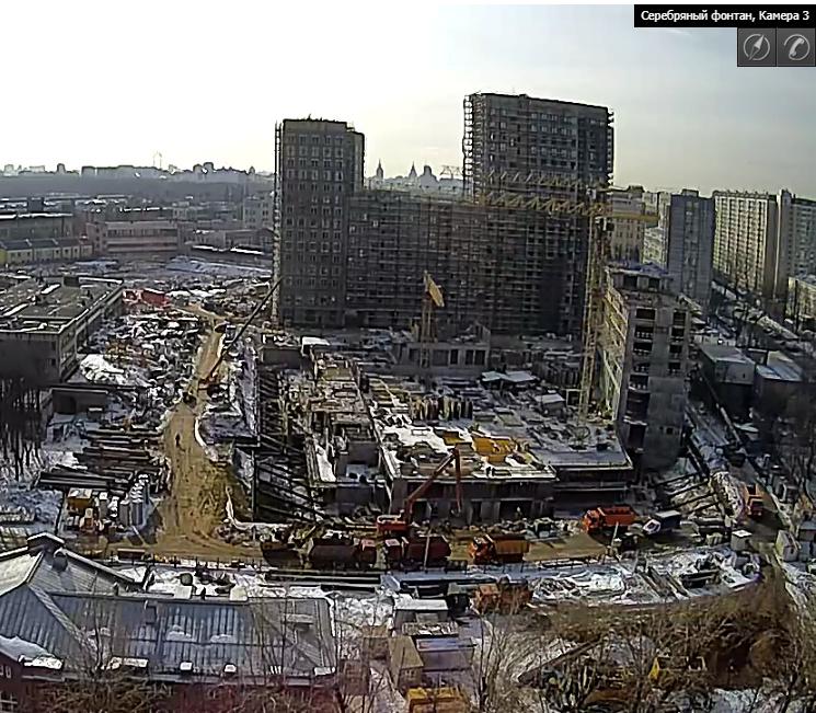 Веб-камеры на площадке строительства ЖК «Серебряный фонтан»  - Страница 9 6210