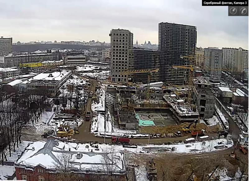 """Ход строительства 2 корпуса ЖК """"Серебряный фонтан"""" 6410"""