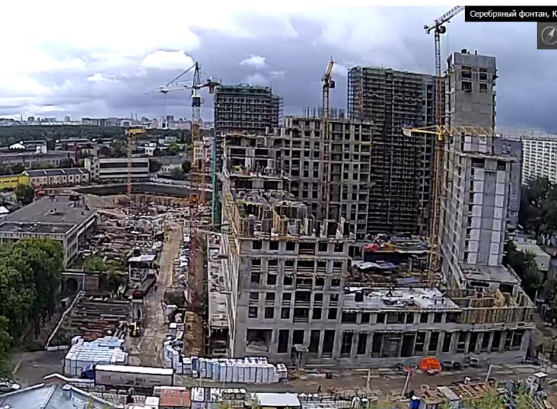 Веб-камеры на площадке строительства ЖК «Серебряный фонтан»  - Страница 13 77710