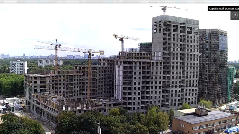 Веб-камеры на площадке строительства ЖК «Серебряный фонтан»  - Страница 13 77712