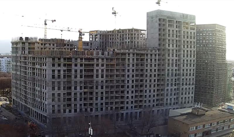 Веб-камеры на площадке строительства ЖК «Серебряный фонтан»  - Страница 16 777710