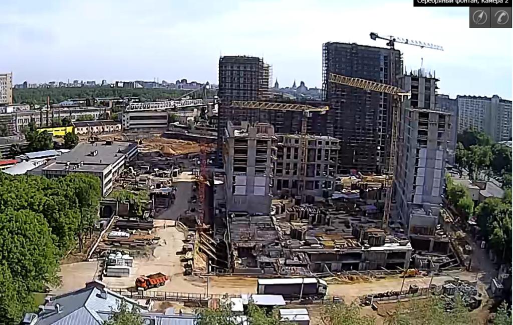 Веб-камеры на площадке строительства ЖК «Серебряный фонтан»  - Страница 11 77777710