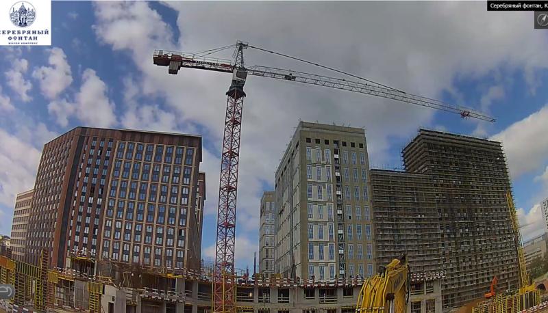 Веб-камеры на площадке строительства ЖК «Серебряный фонтан»  - Страница 24 87910