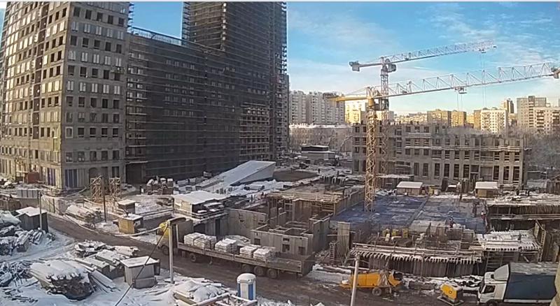 Веб-камеры на площадке строительства ЖК «Серебряный фонтан»  - Страница 9 89711