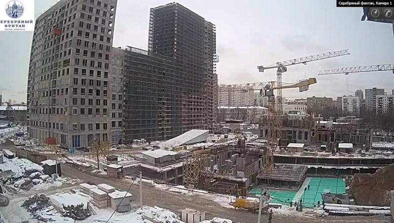 Веб-камеры на площадке строительства ЖК «Серебряный фонтан»  - Страница 8 9000010