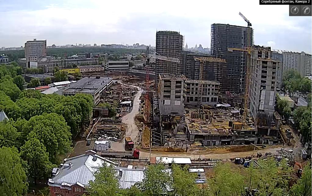Веб-камеры на площадке строительства ЖК «Серебряный фонтан»  - Страница 10 Dan6pv10