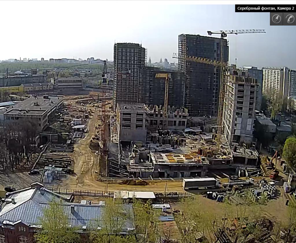 Веб-камеры на площадке строительства ЖК «Серебряный фонтан»  - Страница 10 Eim78t10