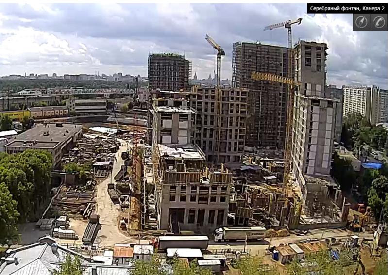 Веб-камеры на площадке строительства ЖК «Серебряный фонтан»  - Страница 12 F3z1xj10